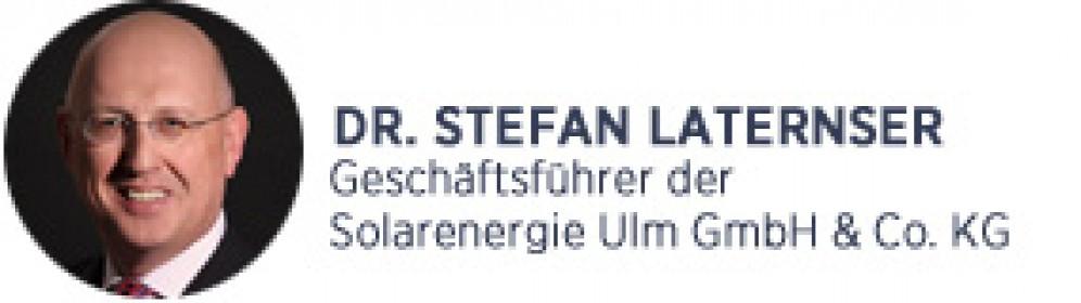 Solarenergie Ulm_Dr. Laternser