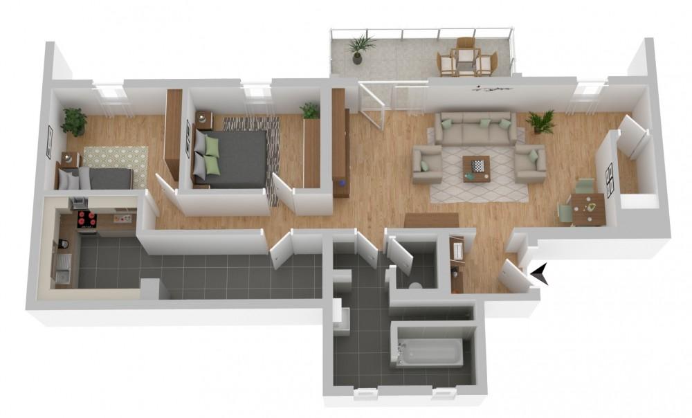 Wohnung Top 6